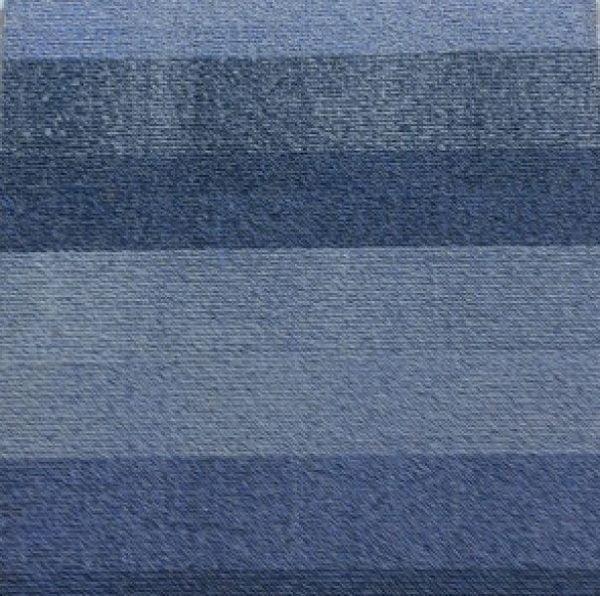 blue cool roof, loop pile, carpet tile