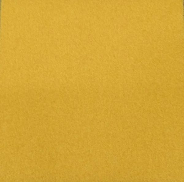 yellow saffron cut pile carpet tile