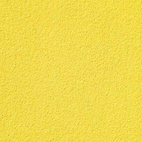 Lemon Saffron Soft Cut Pile Plain Pattern Carpet Tile