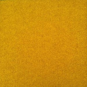 "Gold ""Turmeric"" Soft Cut Pile Carpet Tile Plain Pattern"