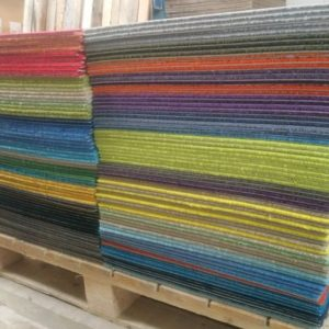 soft feel cut pile mixed carpet tiles